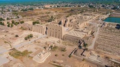 Der Nil: Tempel von Luxor