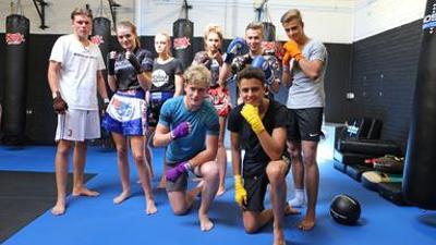 Die WG: Staffel 11, Folge 12 - Kickboxing