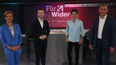 Für & Wider - Die ZDF-Wahlduelle: Für & Wider vom 19. August 2021